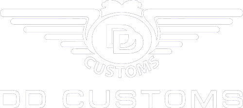 DD Customs Retina Logo