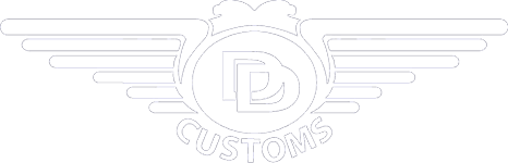 DD Customs Mobile Retina Logo