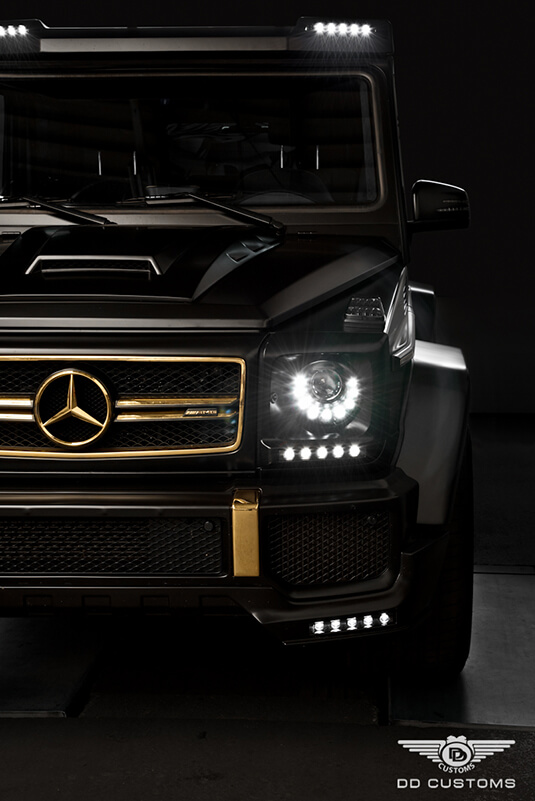 G-Klasse AMG Bodykit mit LED Beleuchtung