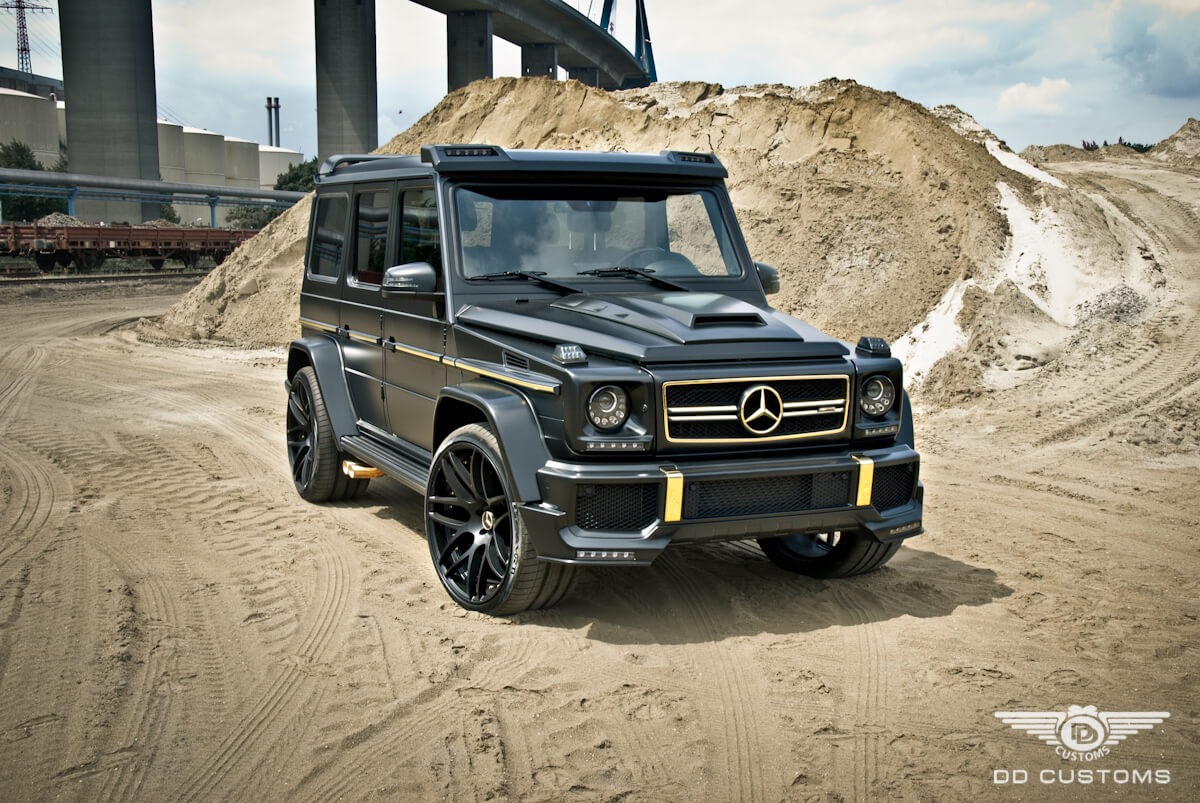 Mercedes G-Klasse AMG Bodykit Widebody Front