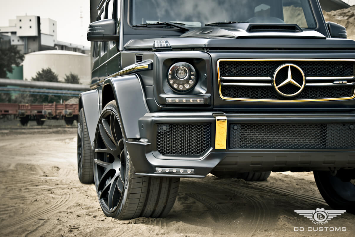 Mercedes G-Klasse AMG Bodykit Widebody Kotflügelverbreiterung