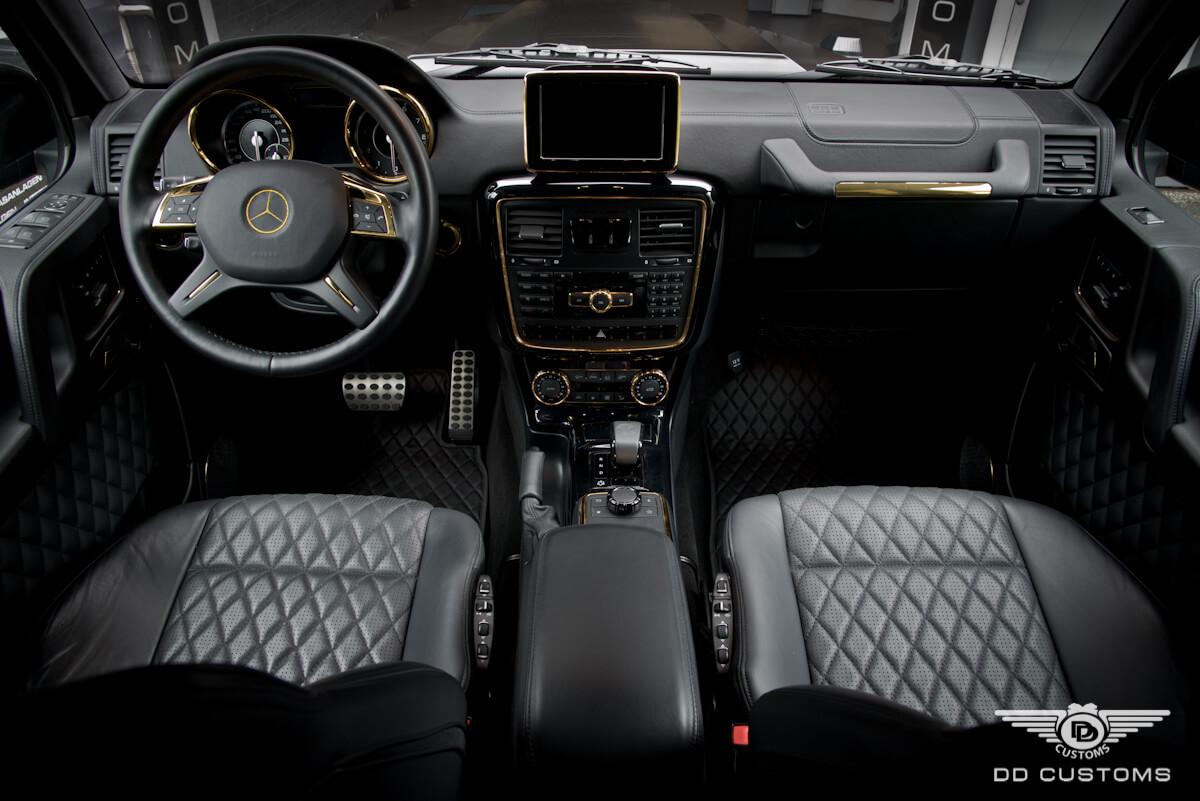 Mercedes G-Klasse AMG Interieur